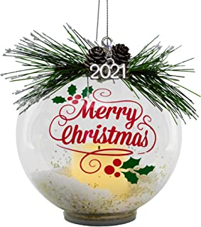 Keepsake Christmas Ornament Year Dated, Filled With Fun! Stocking 2021 Amazon Com Dated Ornaments
