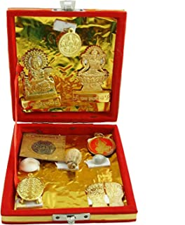 Classico Shree Laxmi-Kuber Dhan Varsha Yantra Gold Make Your Wishes Come True Indian