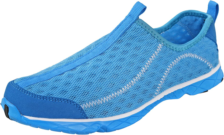 Urban Fox Women's TreadLite Water Shoes | Barefoot | Quick-Dry | Aqua | Light Blue