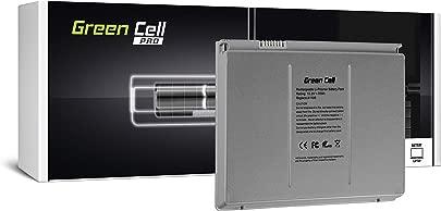 Green Cell A1189 PRO Serie Laptop Akku f r Apple MacBook Pro 17 A1151 A1212 A1229 A1261 2006-2008 Li-Polymer ATL Zellen 70Wh 10 8V Silber Schätzpreis : 49,95 €