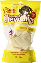 The Rawhide Express Cheese Flavored Strips/Chips Dog Chew, 1-Pound