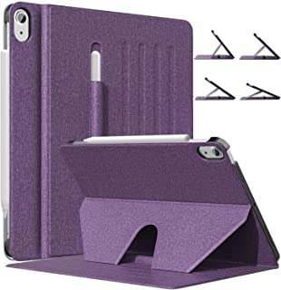 MoKo Cover Compatibile con Nuovo iPad Air 4a Generazione - iPad 10.9 2020 con Angolazione Supporto Magnetico 4 Livelli, Cu...