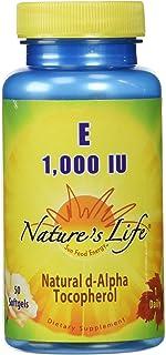 Nature's Life Vitamin E, 1,000 IU   50 ct