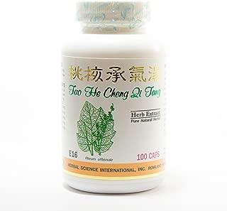 Prunus Cheng Qi Formula Dietary Supplement 500mg 100 capsules (Tao He Cheng Qi Tang) E16 100% Natural Herbs