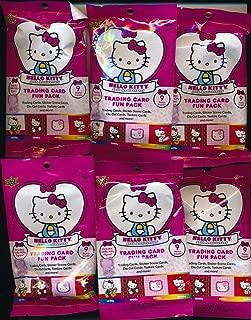 Hello Kitty's 40th Anniversary Trading Card (20) Fun Packs