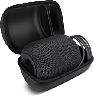 HomePod Travel Case, Carry Bag with Holding Strap Drop, Protection Dust Cover Shockproof Carrying Case for Apple HomePod S...