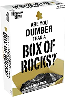 University Games are You Dumber Than a Box of Rocks Game