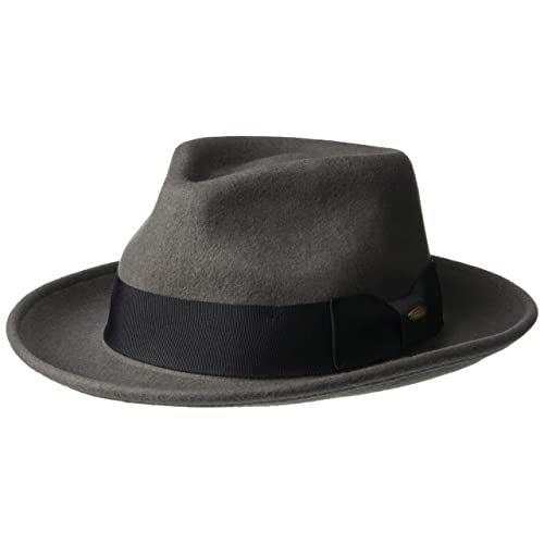 SCALA Classico Men s Crushable Wool Felt Fedora 8ba735f31e7