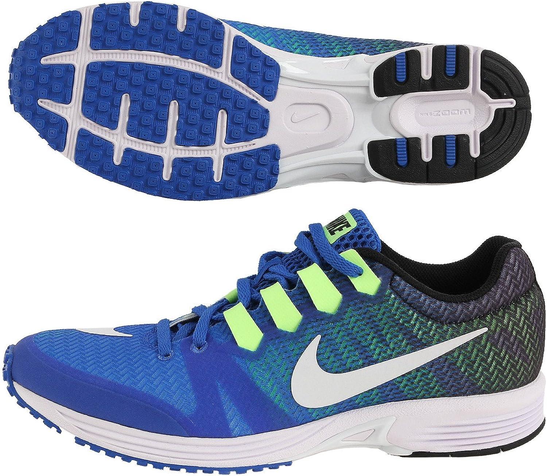 Nike Air Zoom Speed Rival 5, Trail Running shoes for Men, bluee (Hyper Cobalt White Black Ghost Green), 42