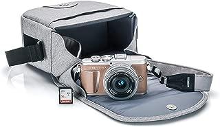 Olympus PEN E-PL9 Kit with 14-42mm EZ Lens, Camera Bag, and Memory Card (Honey Brown)