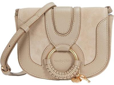 See by Chloe Hana Crossbody (Motty Grey) Handbags