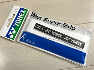 YONEX 0.6mm Normal Wet Super Grip Ac103 White (yac103w011f) Badminton Tennis Squash