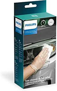 Philips Headlight Restoration Kit with UV protection - Complete Kit to restore headlight lenses