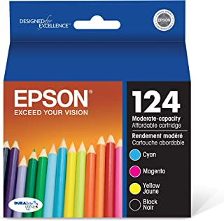 Best Epson T124120-BCS DURABrite Ultra Black and Color Combo Pack Moderate Capacity Cartridge Ink Review