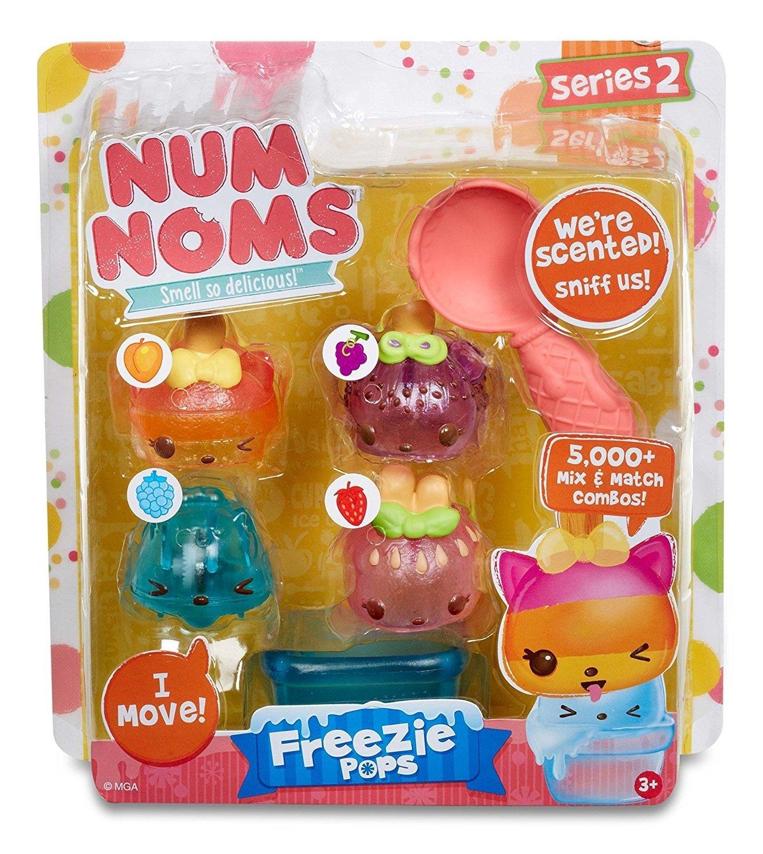MGA Entertainment Num Noms Starter Pack Series 2 Freezie Pops Cocina y Comida Estuche de Juego - Juegos de rol (Cocina y Comida, Estuche de Juego, 3 año(s), Chica, Multicolor, De plástico):