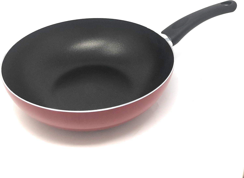 Quantity limited RAVELLI Italia Linea 10 Non Ranking TOP5 Stick Stir Fry Pan 11inch Wok
