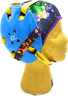 Wrestling Hair Cap - Under The Headgear 4 Strap Style - Paint Splatter