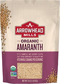 Arrowhead Mills Organic Amaranth, 16 oz. Bag
