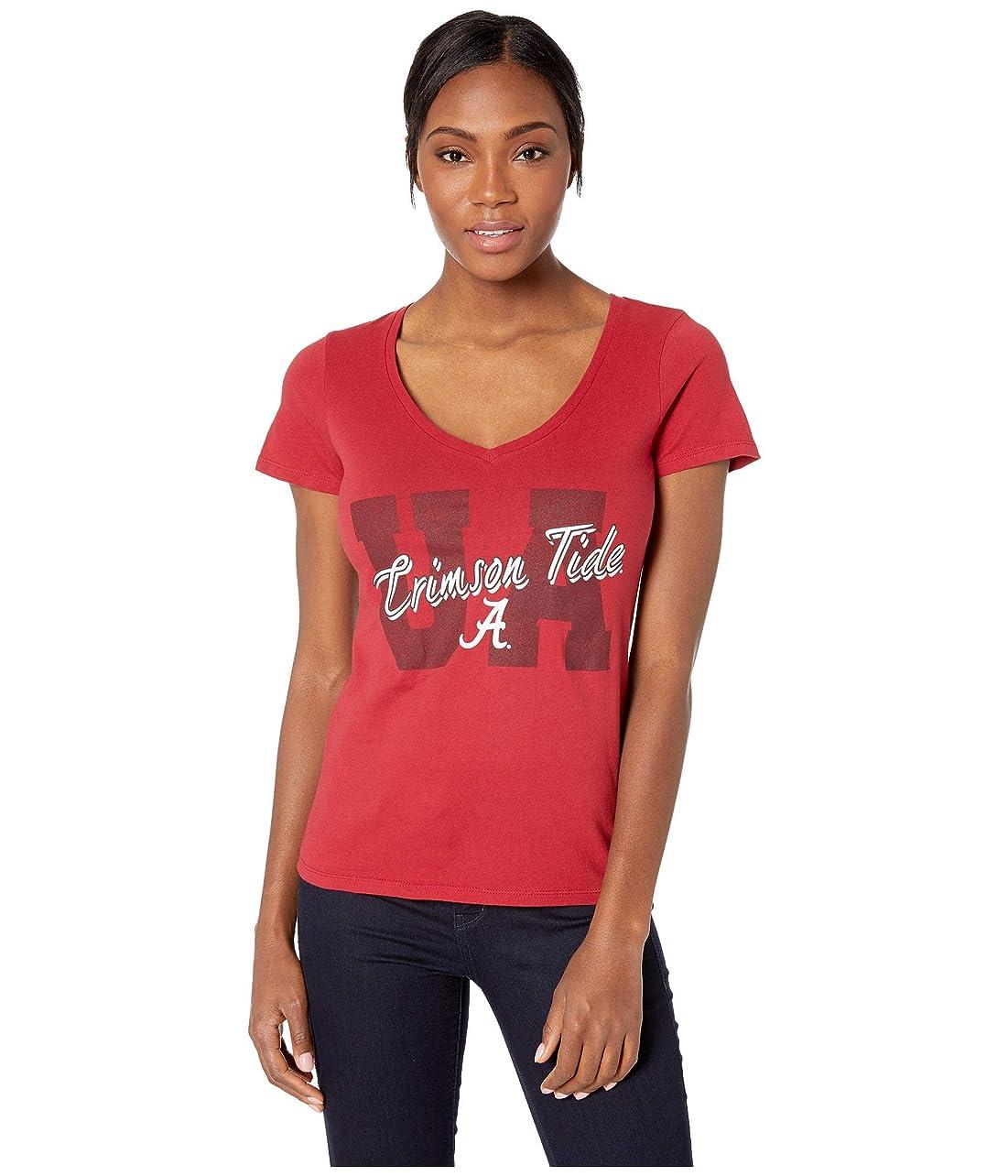 症候群ボール名詞[チャンピオン] レディース シャツ Alabama Crimson Tide University V-Neck T [並行輸入品]