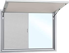 Concession Stand Trailer Serving Window with Awning Cover 2 Window (36