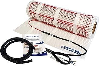 CALORIQUE Estera De Cable De Calefacción Eléctrica - Diferentes Tamaños - 2,5m² - Calefacción Eficiente Por Suelo Radiante...