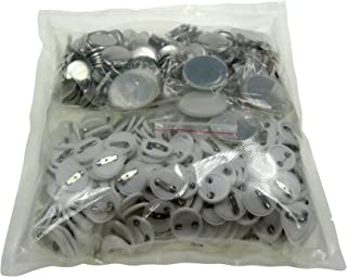 Sunshine 25mm Blank Badges & Buttons Parts for Badge & Button Making Machine (Holland-Pin Plastic-Back 500sets)