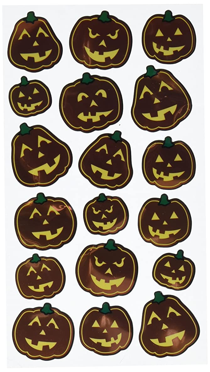 Sticko Scary Pumpkins Stickers