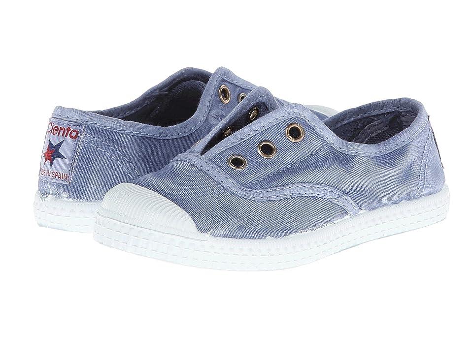 Cienta Kids Shoes 70777 (Toddler/Little Kid/Big Kid) (Washed Denim) Kid