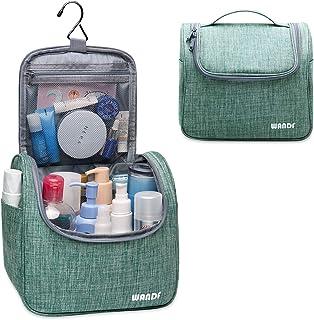 Hanging Toiletry Bag Travel Cosmetic Organizer Shower Bathroom Bag for Men Women Water-resistant (Light Green)