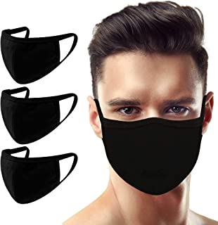 3 Pack Made in USA Unisex Adult Large Eco Friendly 3D Protective Reusable Face Mask – Comfortable and Breathable Mouth and...
