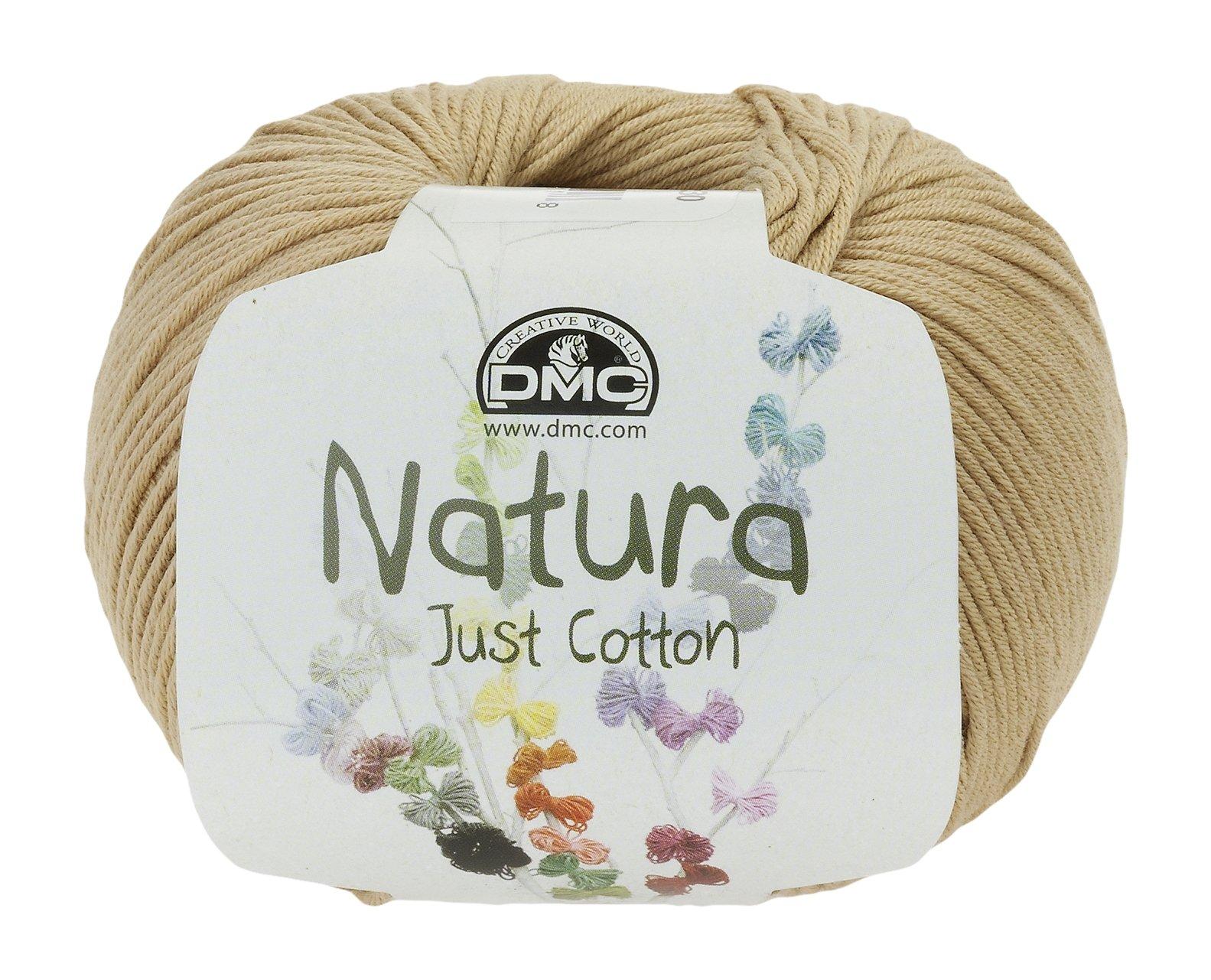 DMC Ovillo de Lana Natura, 100% algodón, Canelle N37: Amazon.es: Hogar