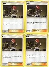 Mars 128/156 - Sun Moon Ultra Prism - Trainer Card Set - x4 Card Lot (Playset)