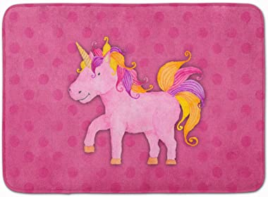 "Caroline's Treasures Unicorn Watercolor Floor Mat, BB7408RUG, Multicolor, 19"" x 27"""