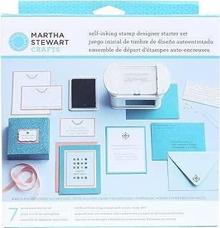 Martha Stewart Crafts Self-Inking Stamp Designer Starter Set