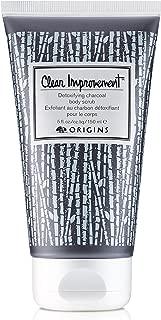 Origins Clear Improvement Detoxifying Charcoal Body Scrub 5.0 Oz, 5 Oz