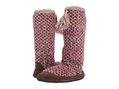 Acorn Jam Tassel Boot (Raspberry) Women