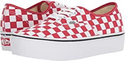 (Checkerboard) Racing Red/True White