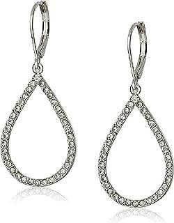 teardrop dangling earrings