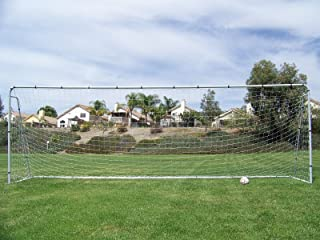 Official Youth Modified Size 21 X 7 X 5 Ft. Steel Soccer Goal. Heavy Duty Frame w/ Net. Regulation Youth Modified FIFA/MLS League Size Goal. Portable Practice Training Aid. 21 X 7, 21x7 Soccer Goal