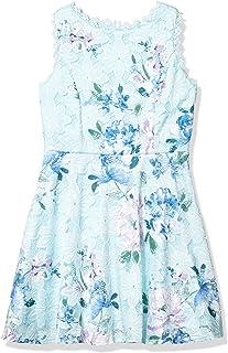 فستان نسائي من Amy Byer من الدانتيل مناسب ومضيئ بالكامل