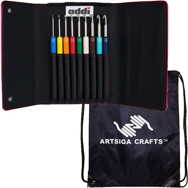 Super popular specialty store addi Knitting Needles Crochet Bargain sale Hook Colours Art Set Bundle with 1