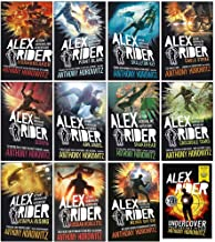 Alex Rider 12 Books Collection Set By Anthony Horowitz (World Book Day Undercover Four Secret Files & More From Alex Rider...