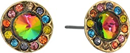 Steve Madden - Casted Circle Post Earrings
