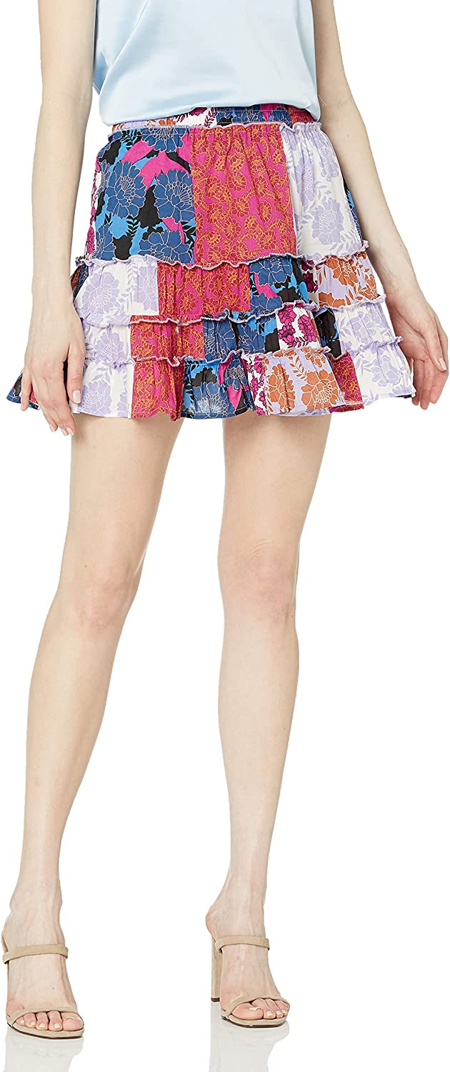 BB Dakota by Steve Madden Women's Your Dry Super beauty product restock quality top! Tiers In stock Skirt Multi S