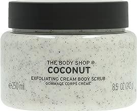 The Body Shop Coconut Exfoliating Cream Body Scrub, 8.5 Oz