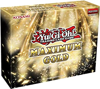 Yu-Gi-Oh! Cards: Maximum Gold Box, Multicolor (083717851066)