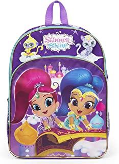 shimmer and shine school bag
