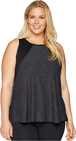 Plus Size Lightweight and Open Up Tank