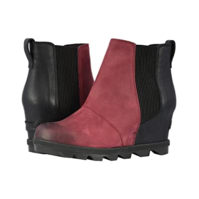 SOREL Joan of Arctictm Wedge II Chelsea (Rich Wine) Women