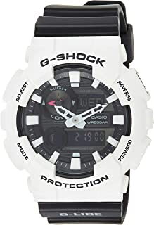 Casio G-Shock G-Lide Tide Graph Moon Data Black Dial Men's Watch GAX-100B-7ADR (G678)